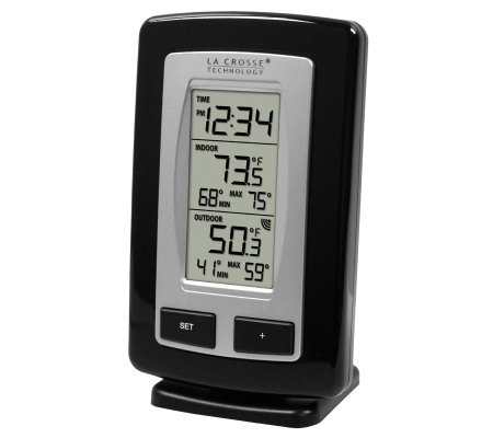 La Crosse Technology WS-9245UBK Wireless Temp Station -