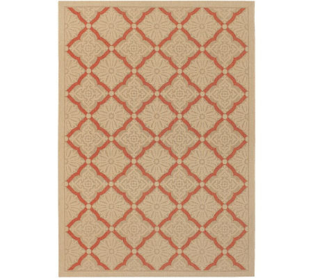 "Couristan 4'11"" x 7'6"" Five Seasons Sorrento Rug"