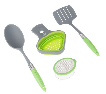 Healthy Portions 4-Piece Set by Lori Greiner