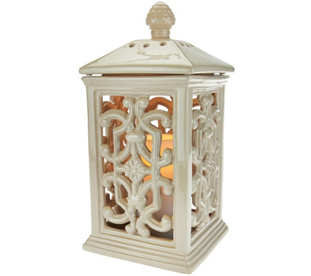 Indoor/Outdoor Lantern with Flameless Candle by Home Reflections