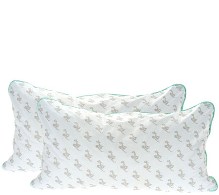 MyPillow Classic Set of 2 King Pillows w/ Color Cording