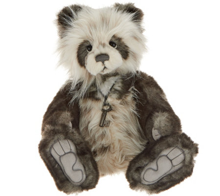 "Charlie Bears Collectible Ainsley 15"" Plush Bear"