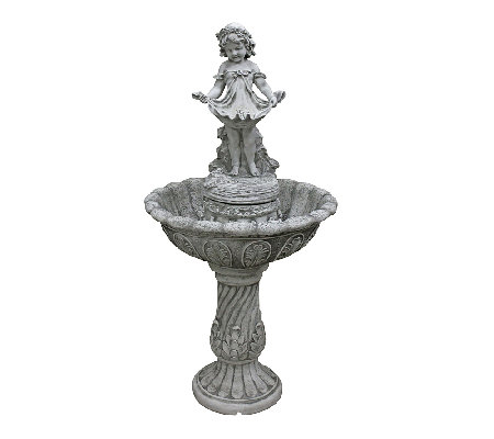 Design Toscano Abigail's Bountiful Apron Cascading Fountain