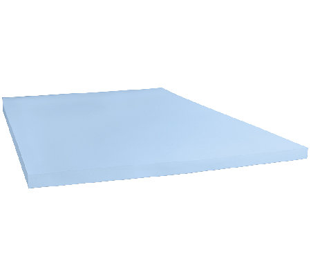 "Sealy 2-1/2"" Memory Foam Mattress Topper Queen"