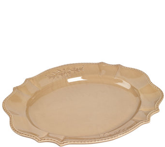 "Tabletops Gallery 21"" Oval Platter - H283989"