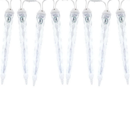 Dancing Icicles 8 Count LED Icicle Light Show Light Strand