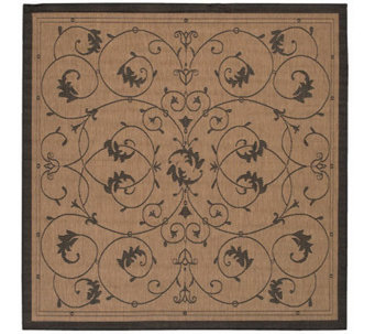"Couristan Recife Veranda Indoor/Outdoor 7'6"" Square Rug - H175090"