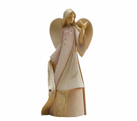 Enesco Foundations October Monthly Angel by Karen Hahn