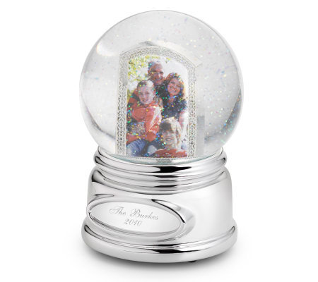 Things Remembered Musical Photo Water Globe