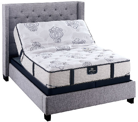 Serta Perfect Sleeper Elite Lovable Plush SK Mattress Set