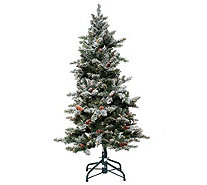 Bethlehem Lights 6.5' Woodland Pine Christmas Tree w/Instant Power - H209390