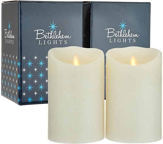 Bethlehem Lights Touch Candle Set Of 2