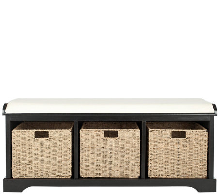 Lonan Storage Bench by Safavieh