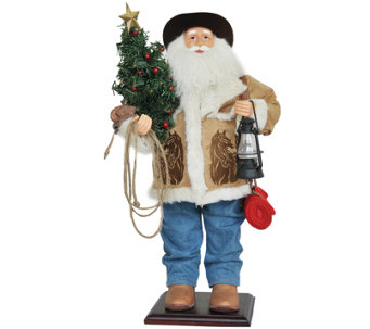 "24"" Home on the Range Santa by Santa's Workshop - H288990"
