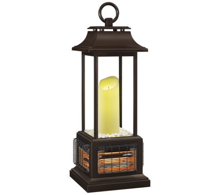 Duraflame Flameless Candle Infrared Outdoor Heater Lantern