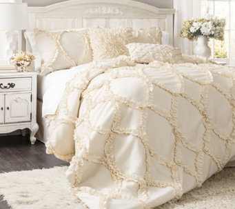 Avon 3-Piece Queen Comforter Set by Lush Decor - H290590