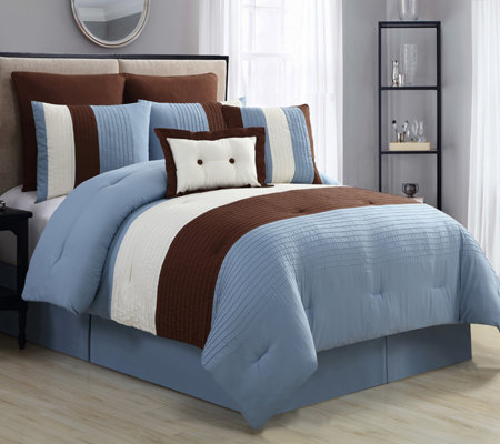 VCNY Home Karmine 8-Piece Queen Comforter Set