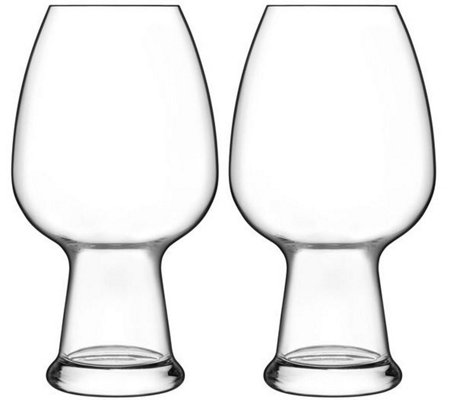 Luigi Bormioli Birrateque Set of Two 26.50-oz Wheat Glasses