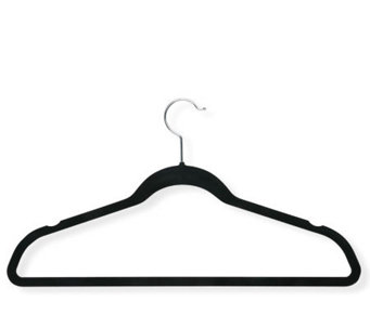 Honey-Can-Do 20-Pack Velvet Touch Suit/Dress Hangers - H356590