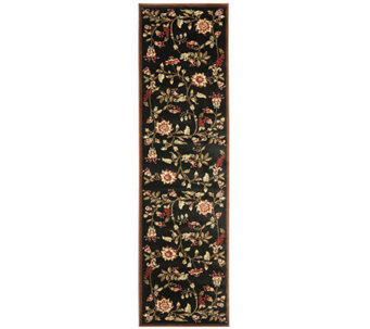 "Lyndhurst Floral Swirl Power Loomed 2'3"" x 12'Runner - H356790"