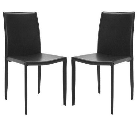 Karna Iron Dining/Side Chairs - Set of Two