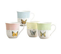 Lenox Butterfly Meadow Mugs, Set of Four - H139991