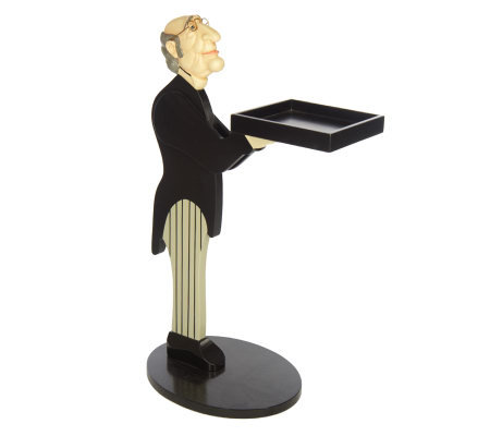 "Bombay Classic 33"" ""James the Butler"" Serving Tray"