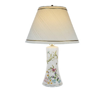 "Belleek Springtime 10"" Lamp with Shade - H201991"