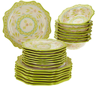 Temp-tations Old World 24-piece Dinnerware Service for 8 - H204391