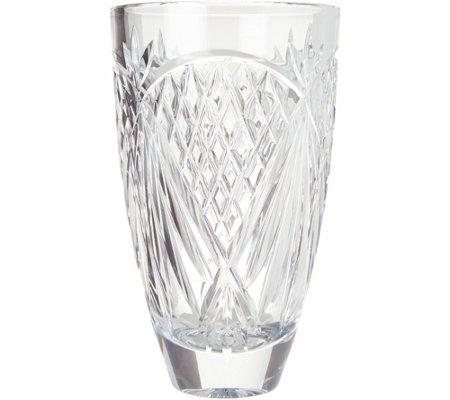 "Waterford Crystal 8.5"" O'Mara Vase"