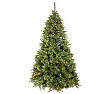 7.5' Cashmere Pine Tree with Dura-Lit Lights byVickerman - H281891