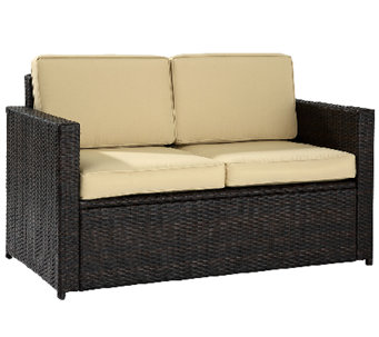 Crosley Palm Harbor Outdoor Wicker Love Seat - H282891