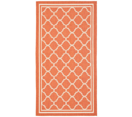 Safavieh Courtyard Classic Mosaic Indoor/Outdoor Rug 4' x 5'7