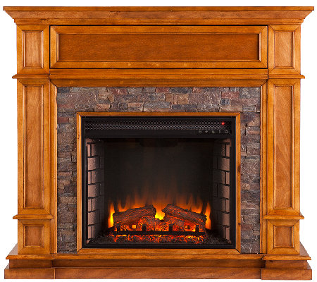 Hunter Electric Media Fireplace
