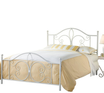 Hillsdale Furniture's Ruby Bed Set - King - w/Rails - H288191