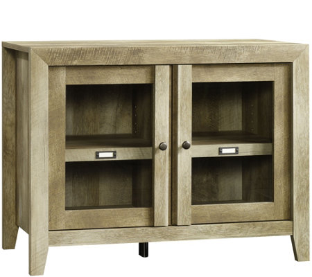 Sauder Dakota Pass Collection Display Cabinet