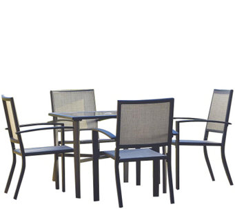 Cosco Serene Ridge 5-Piece Aluminum Dining Set - H289091