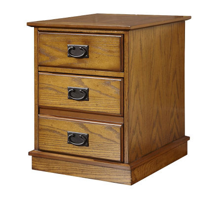 Home Styles Modern Craftsman Mobile File Cabinet