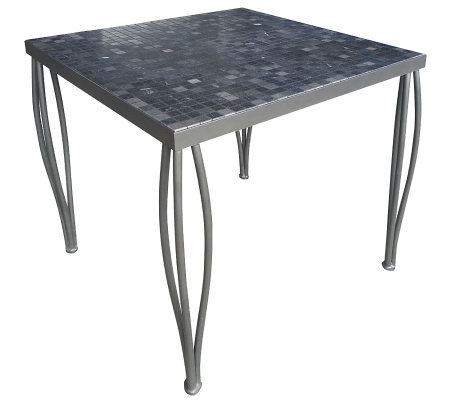 Home Styles Outdoor Glen Rock Marble Square Bistro Table