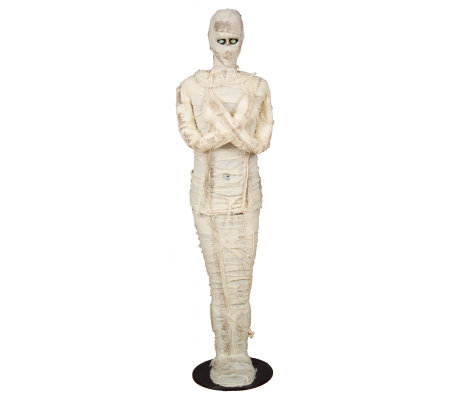 Life-size Animated Talking Mummy w/ Light-up Eyes