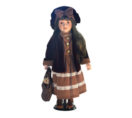 Copa Judaica Ellis Island Collection PorcelainDoll - Molly