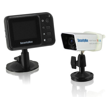 SecurityMan Wireless Rearview Camera System