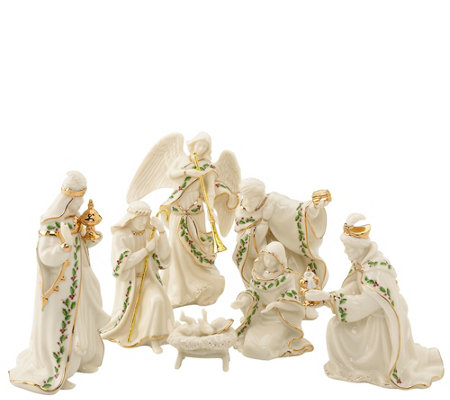 Lenox 7-Piece Porcelain Nativity Set