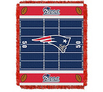 "NFL Woven Jacquard Throw Field 36"" x 46"" - H290092"