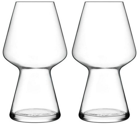 Luigi Bormioli Birrateque Set of Two 23.25-oz Seasonal Glasses