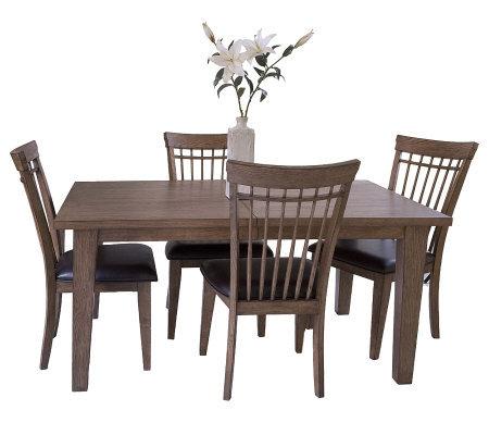 Hillsdale Furniture Oak Grove 5 Piece Dining Set