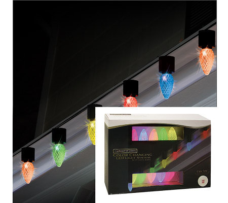 10-Count C9 LED Light Show Strand