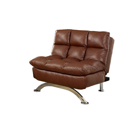 Aristo I Faux-Leather Chair