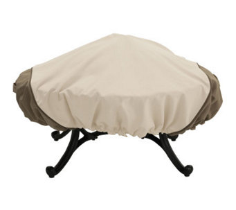 Veranda Round Fire Pit Cover by Classic Accessories - H149393