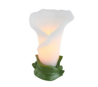 Home Reflections Calla Lily Flameless Candle w/ Timer - H197193
